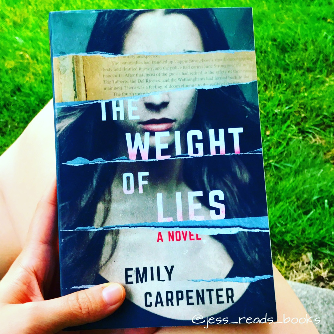 Book Review: The Weight of Lies – What Jess Reads
